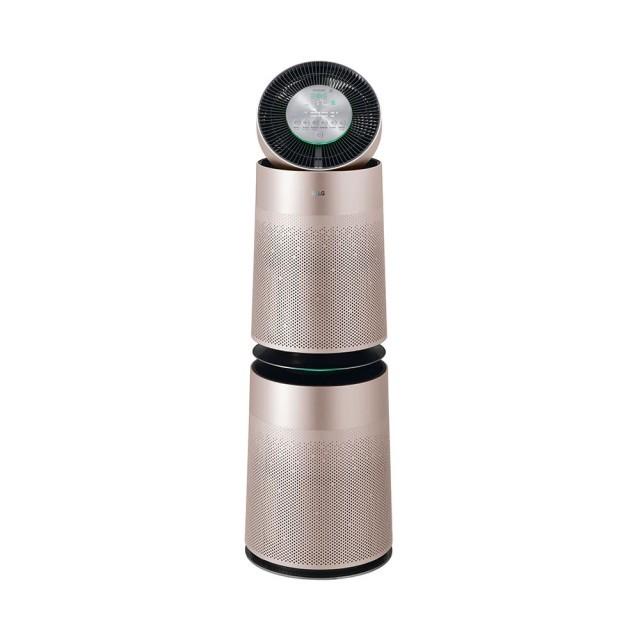 LG 樂金 PuriCare 360°空氣清淨機-雙層AS951DPT0(金色) (M)