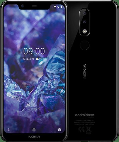 Nokia 5.1 Plus 3GB/32GB 黑色