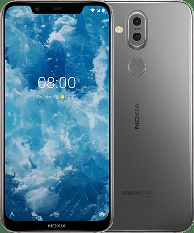 Nokia 8.1 4GB/64GB 璀璨銀