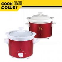【CookPower 鍋寶】養生燉鍋買大送小超值組EO-SE3508SE6006