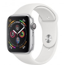 Apple Watch 40MM 金色鋁金屬錶殼搭配粉沙色運動型錶帶