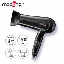 【mods hair】負離子溫控輕巧摺疊吹風機(MHD-1243-K-TW)(M)