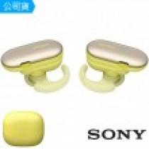 【SONY 索尼】WF-SP900 真無線防水運動藍牙耳機-黃色(P)