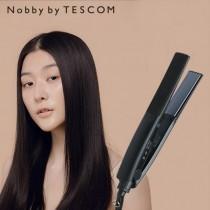 【NOBBY BY TESCOM】日本專業沙龍修護離子平板夾 NIS3000TW 夜空黑(M)