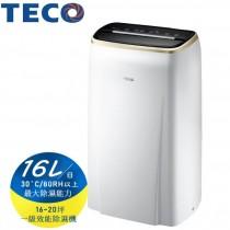TECO 東元 一級能效16公升除濕機-台灣製(MD3209RW) (M)