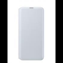 Samsung Galaxy A20 翻頁式皮套 白