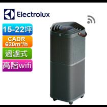 伊萊克斯Electrolux PURE A9高效能抗菌空氣清淨機PA91-606DG(沉穩黑)(P)