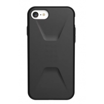 【UAG】CIVILIAN 耐衝擊簡約保護殼 iPhone 12 黑