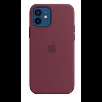 2020 iPhone 12 | 12 Pro MagSafe 矽膠保護殼 - 梅李色-510