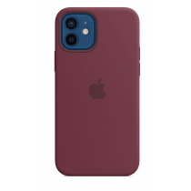 2020 iPhone 12 Pro Max MagSafe 矽膠保護殼 - 梅李色-510