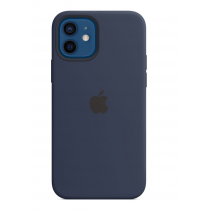 2020 iPhone 12 | 12 Pro MagSafe 矽膠保護殼 - 海軍深藍色-510