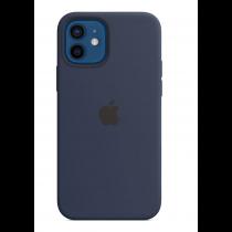 2020 iPhone 12 Pro Max MagSafe 矽膠保護殼 - 海軍深藍色-510