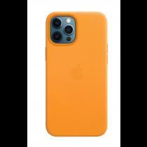 2020 iPhone 12 Pro Max MagSafe 皮革保護殼 - 加州罌粟色-510