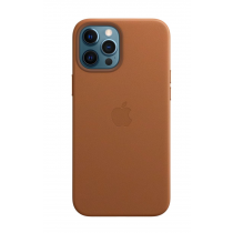 2020 iPhone 12 Pro Max MagSafe 皮革保護殼 - 馬鞍棕色-510