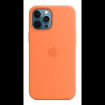 2020 iPhone 12 Pro Max MagSafe 矽膠保護殼 - 金橘色-510