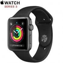 Apple Watch Series 3 GPS 版 42mm 太空灰鋁金屬錶殼配黑色運動錶帶 (MTF32TA/A)