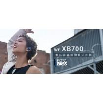 SONY 重低音真無線藍牙耳機 WF-XB700(藍色)(P)